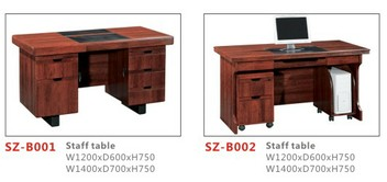 SZ-B001 and SZ-B002 staff  desk