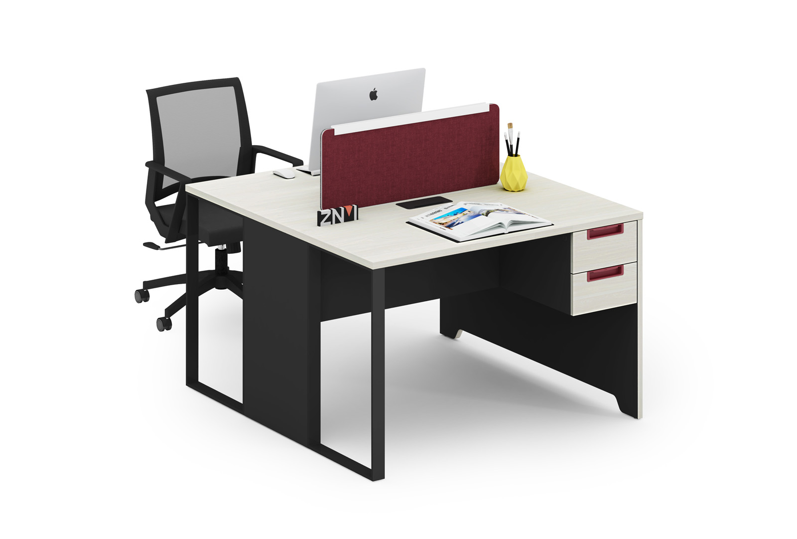 ZNMIS Modern Modular office Workstations ( T-DB1212)/Computer Desk