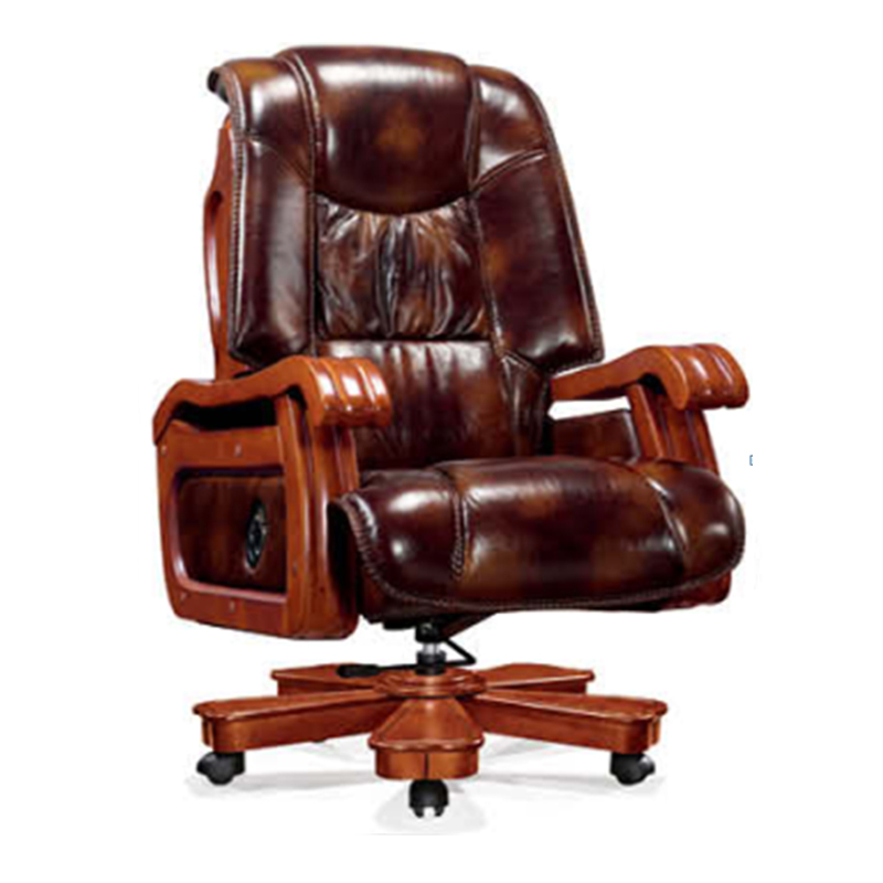Executive Office Chair ZM-A746/Double Function Importing Cow Leather