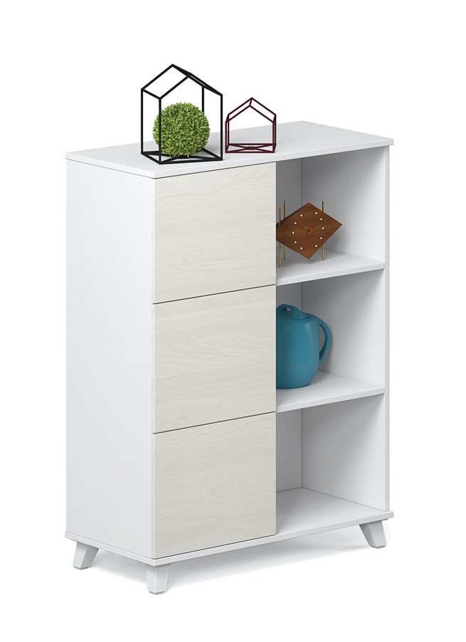 NEW DESIGN POPULAR OFFICE Double Face Low Open Cabinet P-CE0804W