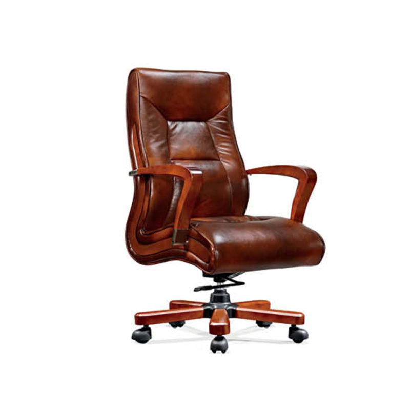 Executive Office Chair ZM- B941 Cow Leather