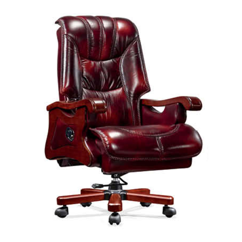 Executive Office Chair ZV-A767 /Double Function Importing Cow Leather