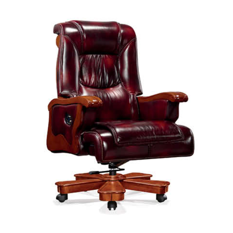 Executive Office Chair ZV-A630/Double Function Importing Cow Leather