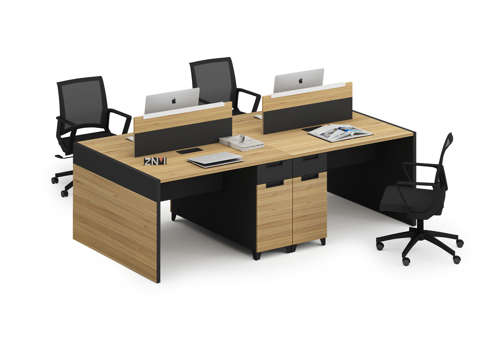 2 Person Workstation New Design K-WC1206