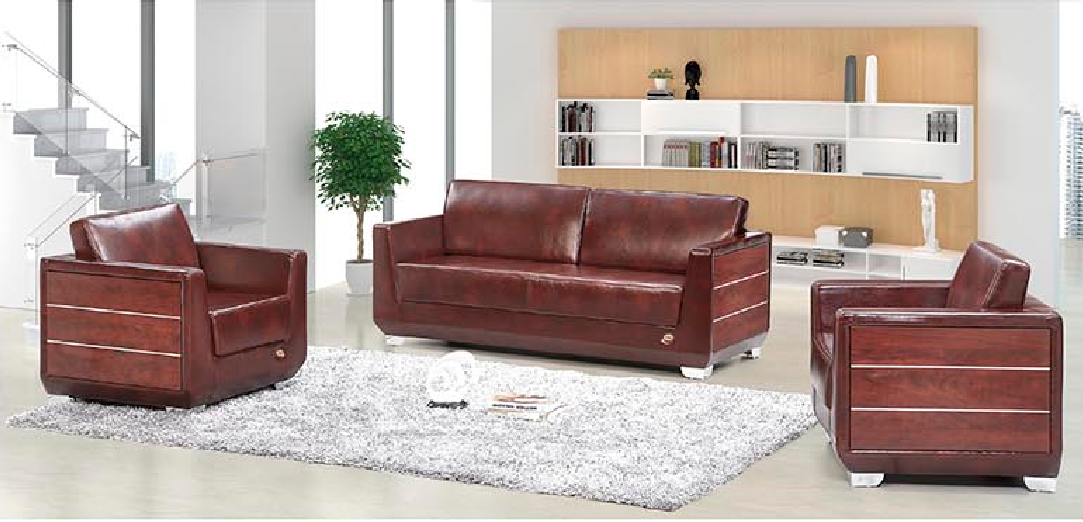 20157Newest office sofa furniture S569 1+1+3 set