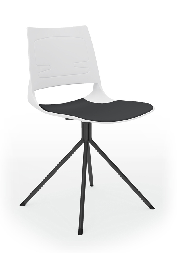Modern Negotiable Chair P-UB01A (Black)/P-UB01B (Red)