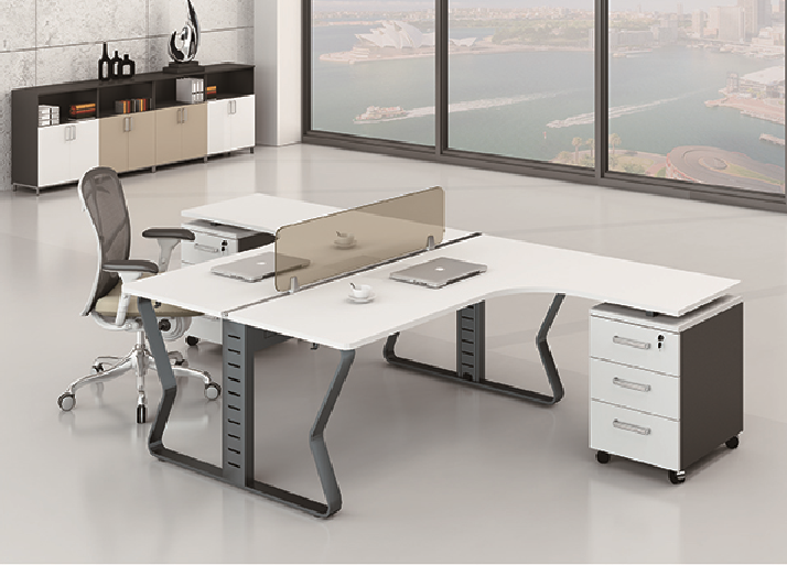 Latest New design office 2 person workstation 89-WB2824