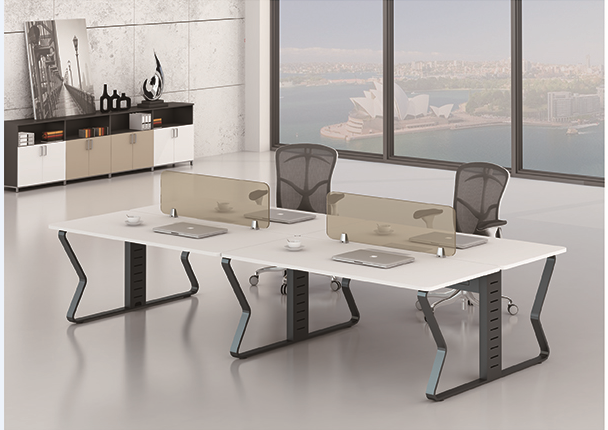 Latest New design office 4 person workstation 89-WB2412