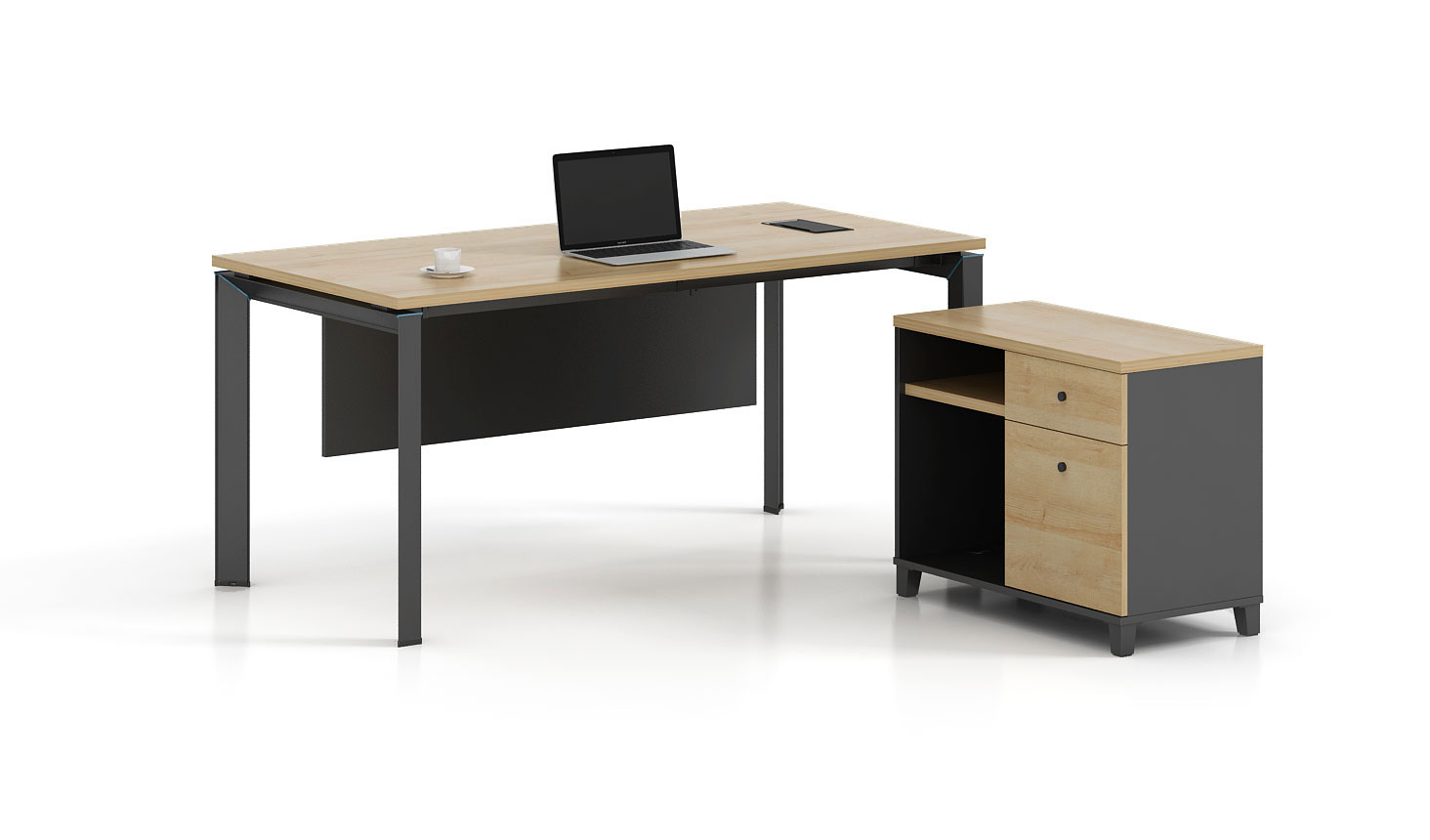 Modern style office table for Manager   T-DB1808L/ T-DB1808R