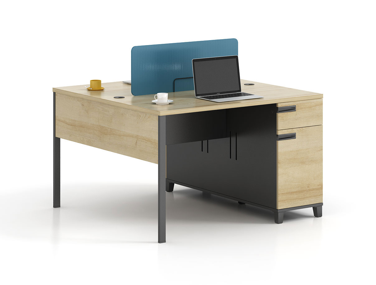 Modern style 2-person workstation   T-WF1212A