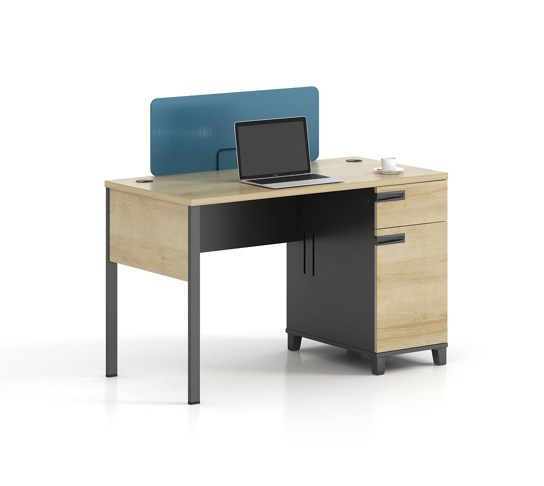 Modern style 1-person workstation  T-WG1206A