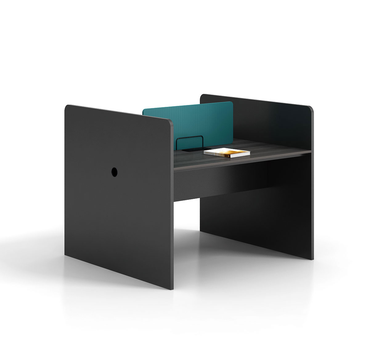 Modern style 2-person workstation   B-WC1212