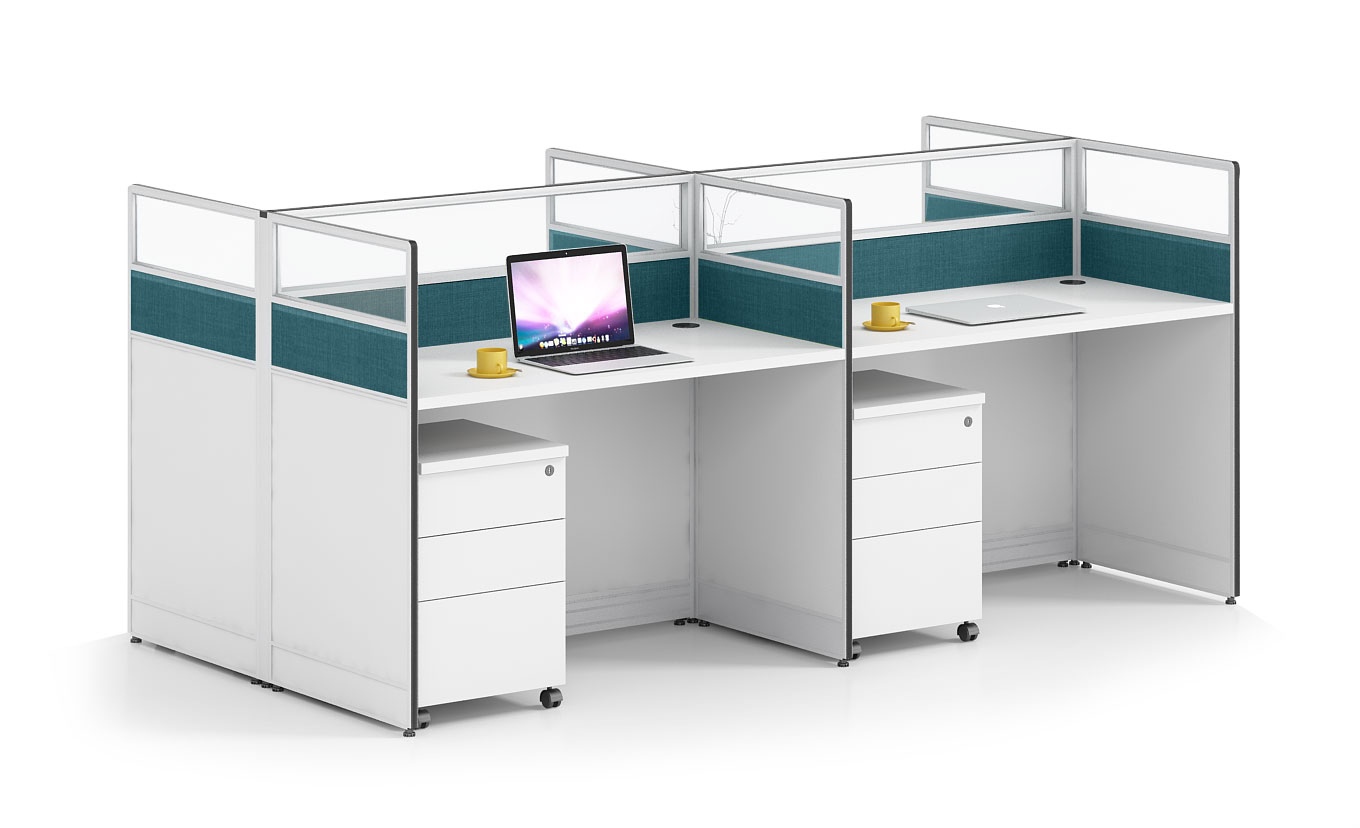 Modern style 4-person workstation Partition  O-WC2412