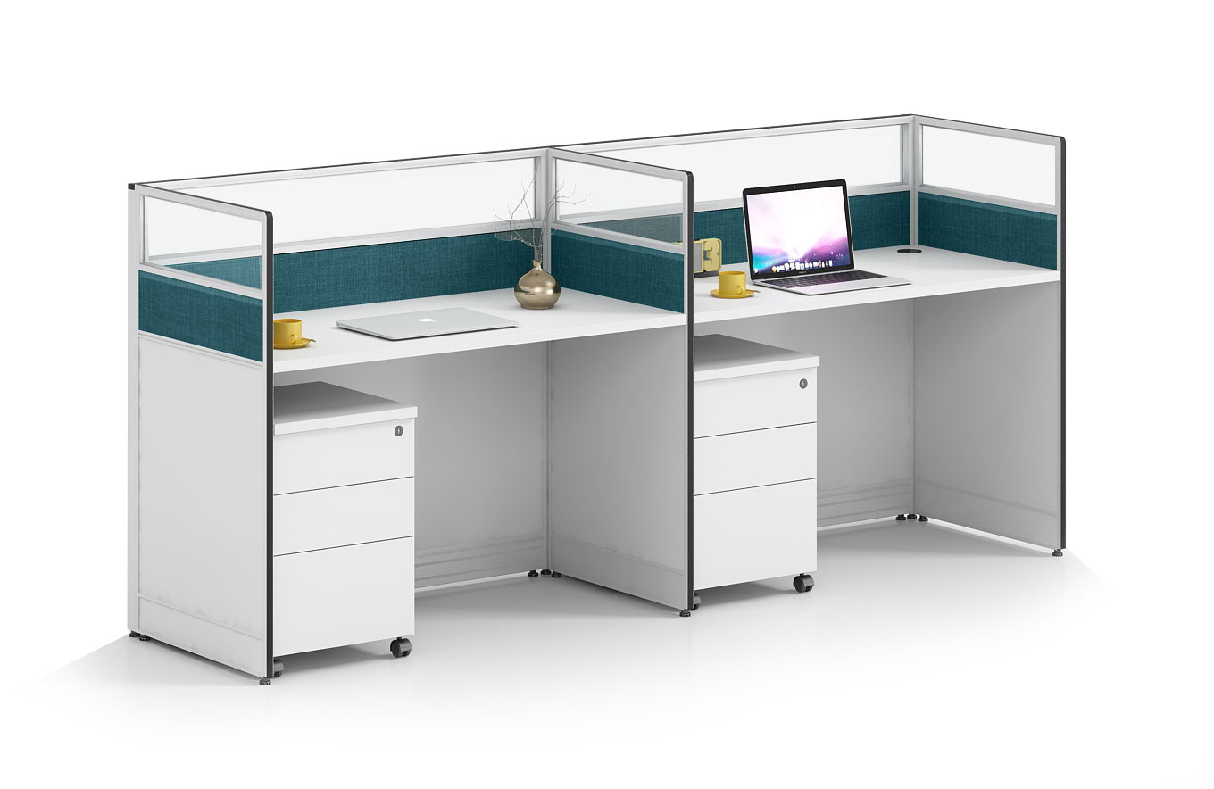 Modern style 2-person workstation Partition  O-WC2406