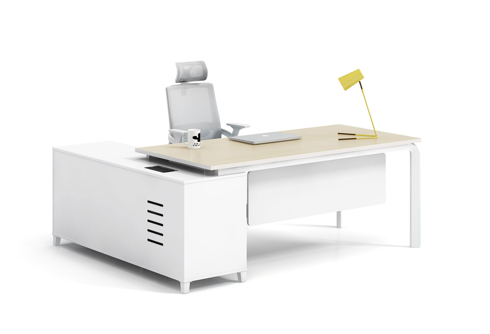 Modern style office table for Manager   X-DA1816L(R)